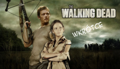 Plakat recenzji The Walking Dead